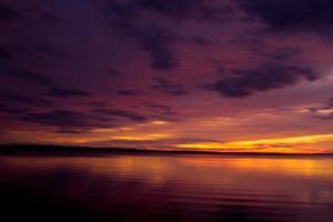 Evening hues at Metung, Australia photo
