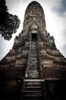 Khmer temple photo