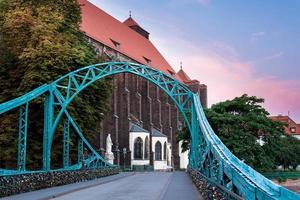 Bridge in Wroclaw photo