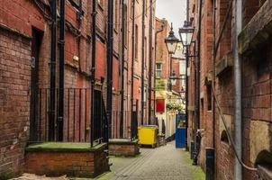Narrow Cobbled Alley photo