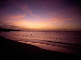 puesta de sol en granada, isla caribeña