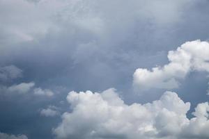 Rainy clouds photo