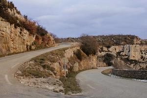 carretera de tráfico foto