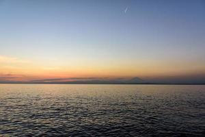 Sea and Mt. Fuji.