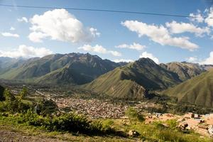 Travelling through Andes: Peru