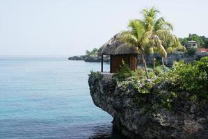 tropical massage hut photo
