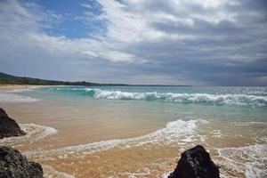 Playa estatal de makena, maui