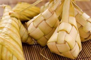 comida malaya ketupat.