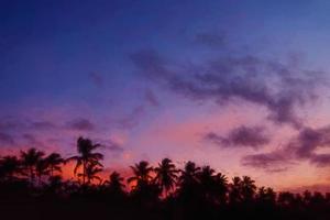 pôr do sol, praia de el portillo, samana, república dominicana