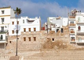 Ancient fortress and living houses of Medina. Tangier, Morocco photo