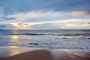 Wailea State Beach Sunset photo