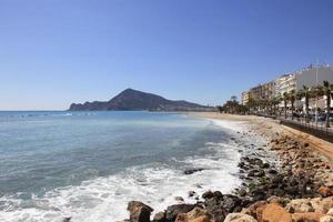 Coastal Town of Altea Spain photo