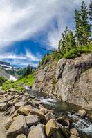 Mountain River in British Columbia, Canada. photo