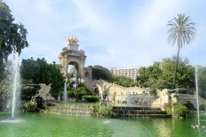 Parc de la Ciutadella in Barcelona photo