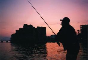 Fishing at dusk:  France