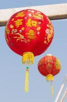 linternas chinas para celebrar chino
