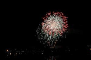 Fireworks celebration photo
