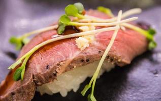 Beef Sushi photo