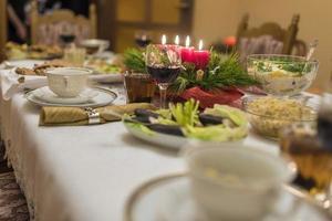 celebración de la víspera de navidad