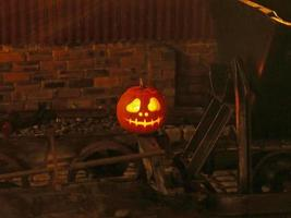 West Lancashire Light Railway celebrates Halloween.