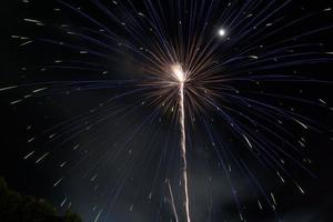 beauty fire work for celebrate photo
