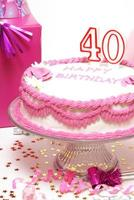 Happy 40th Birthday photo