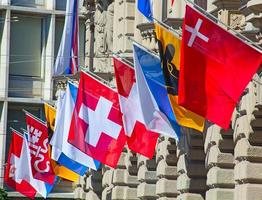 Swiss National Day in Zurich photo