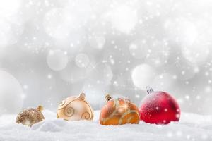 Abstract Christmas background photo