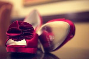 zapatos rojos foto