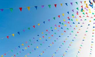 bunting flags photo