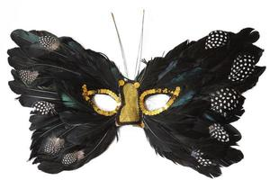 Butterfly Feather Mask