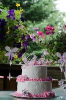 pastel de cumpleaños 2 foto