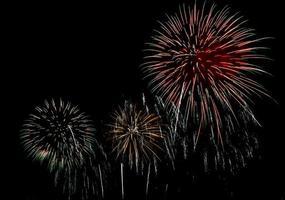 Beautiful firework