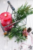 composição decorativa de natal