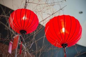 lanternas de papel vermelhas para decoração