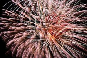 4th of Jult Fireworks Circular Burst photo