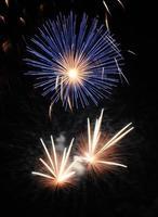 Silver Blue Fireworks photo