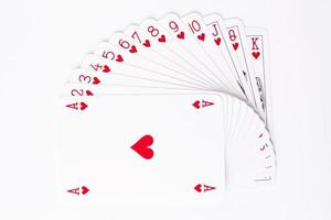 Heart Suit of Playing Cards