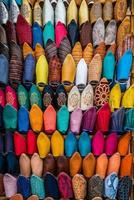 moroccan slippers photo
