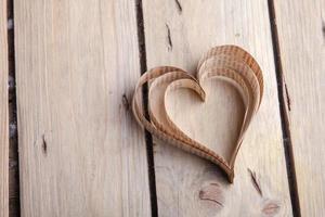 Heart-shaped cutout St Valentines hearts photo
