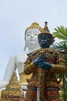 Titan and buddha