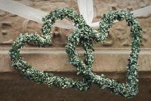 Green hearts photo