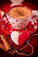 Heart biscuit photo
