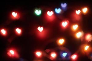 Heart blur photo