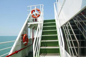 Staircase in the ship