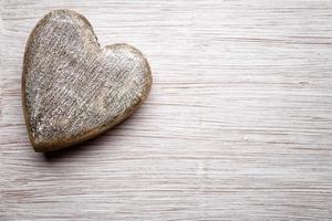 corazón vintage. foto