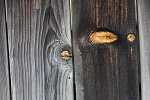 weathered wood with knot