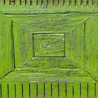 textura de madeira velha verde