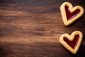 Heart cookies. photo