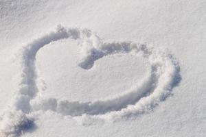 Snow Hearts photo